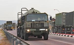 Los militares leoneses de la base Conde de Gazola se despliegan en la Valiant Lynx 18