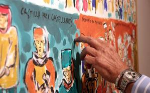 Juan Mons: «Mi cuadro se acaba de pintar en tu cabeza cuando lo ves»
