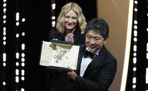 El japonés Hirokazu Kore-Eda, Palma de Oro en el Festival de Cannes