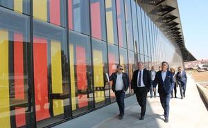 León presume de Palacio de Exposiciones ante los empresarios y busca proyectar sus posibilidades en el exterior