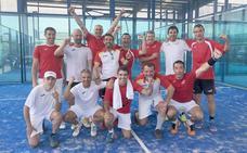 Dos leoneses se proclaman campeones de pádel por selecciones autonómicas de veteranos