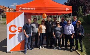 La Agrupación de Ciudadanos León recoge demandas y necesidades de los vecinos de Villaquilambre