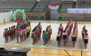 El Ritmo y Agustinos se reparten las victorias en el Provincial escolar de rítmica