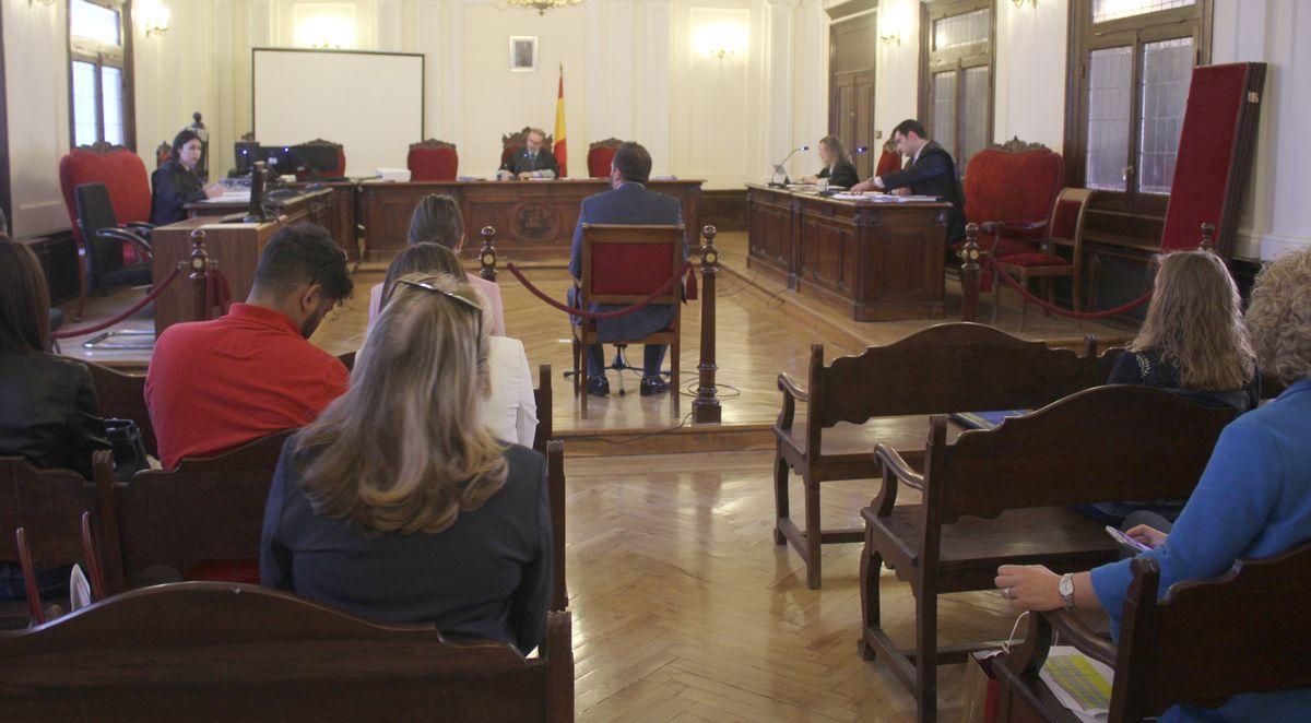 La Audiencia Provincial acoge el Simuleón 2018