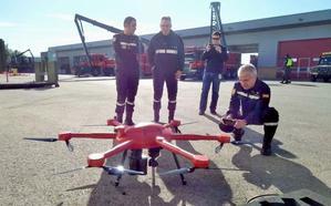 La UME mostrará en el 'Unvex León' sus drones para rescate en el entorno urbano