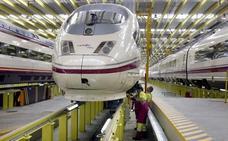 Un grupo de trabajadores de los talleres de Renfe en León denuncia el «maltrato laboral» de la empresa ferroviaria