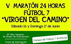 La Virgen se prepara para celebrar su V 24 horas de Fútbol 7