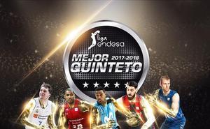Doncic, Neal, Landesberg, Shengelia y Norel, mejor quinteto de la Liga Endesa