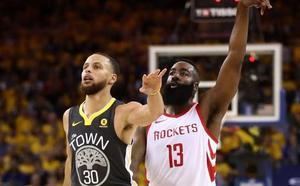 James Harden lidera la remontada de los Rockets para empatar la final