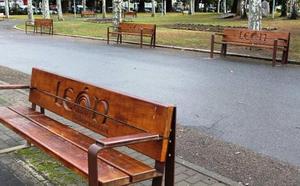 UPL exige al equipo de Gobierno que solucione el «lamentable estado» del mobiliario urbano de León