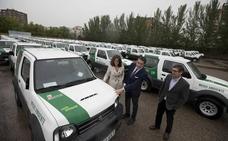 Medio Ambiente entrega el último lote de 91 vehículos todoterreno para la provincia de León