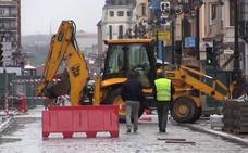 El Ayuntamiento de León «está en la lucha» para acortar plazos en las obras de Ordoño II