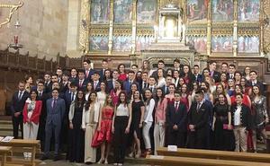 Graduación en el Colegio Nuestra Señora del Carmen - Camelitas Landazuri