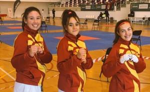 Triple representación leonesa en el Campeonato de España sub21 de taekwondo