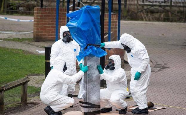Sospechan de dos rusos en caso de envenenamiento
