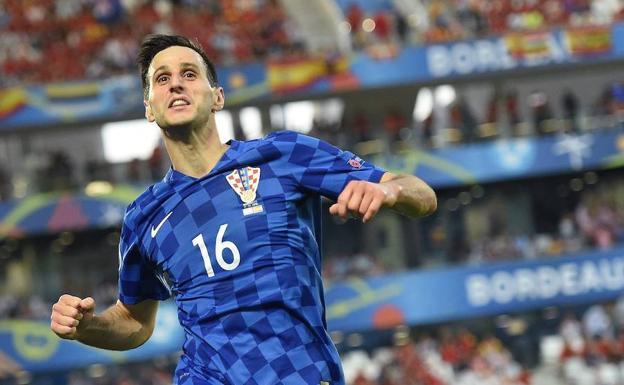 Nikola Kalinic fue fichado por el Atlético de Madrid de Diego Simeone