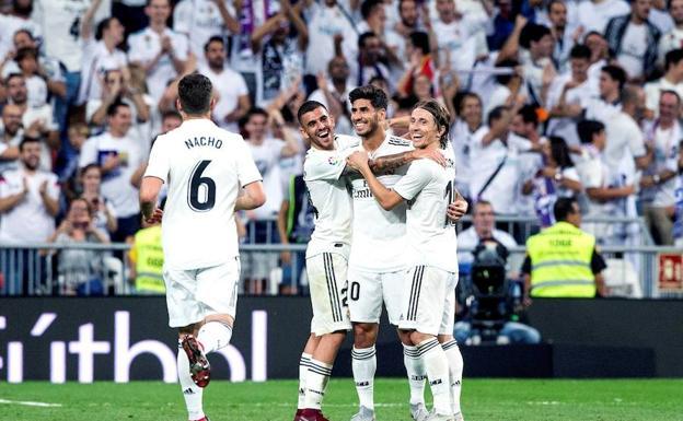 El Real Madrid se aferra a la punta