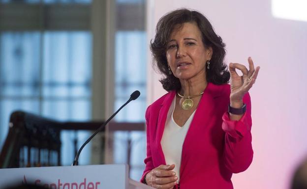 El Santander gana 1.840 millones hasta marzo, un 10% menos