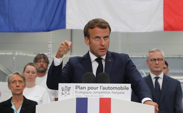 Francia dará 8.000 millones a la industria automovilística afectada por el Covid