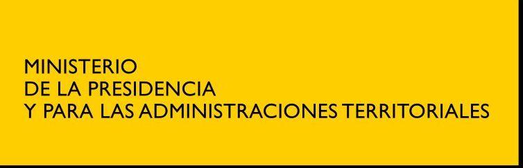 Ministerio de la Presidencia y para las Administraciones Territoriales
