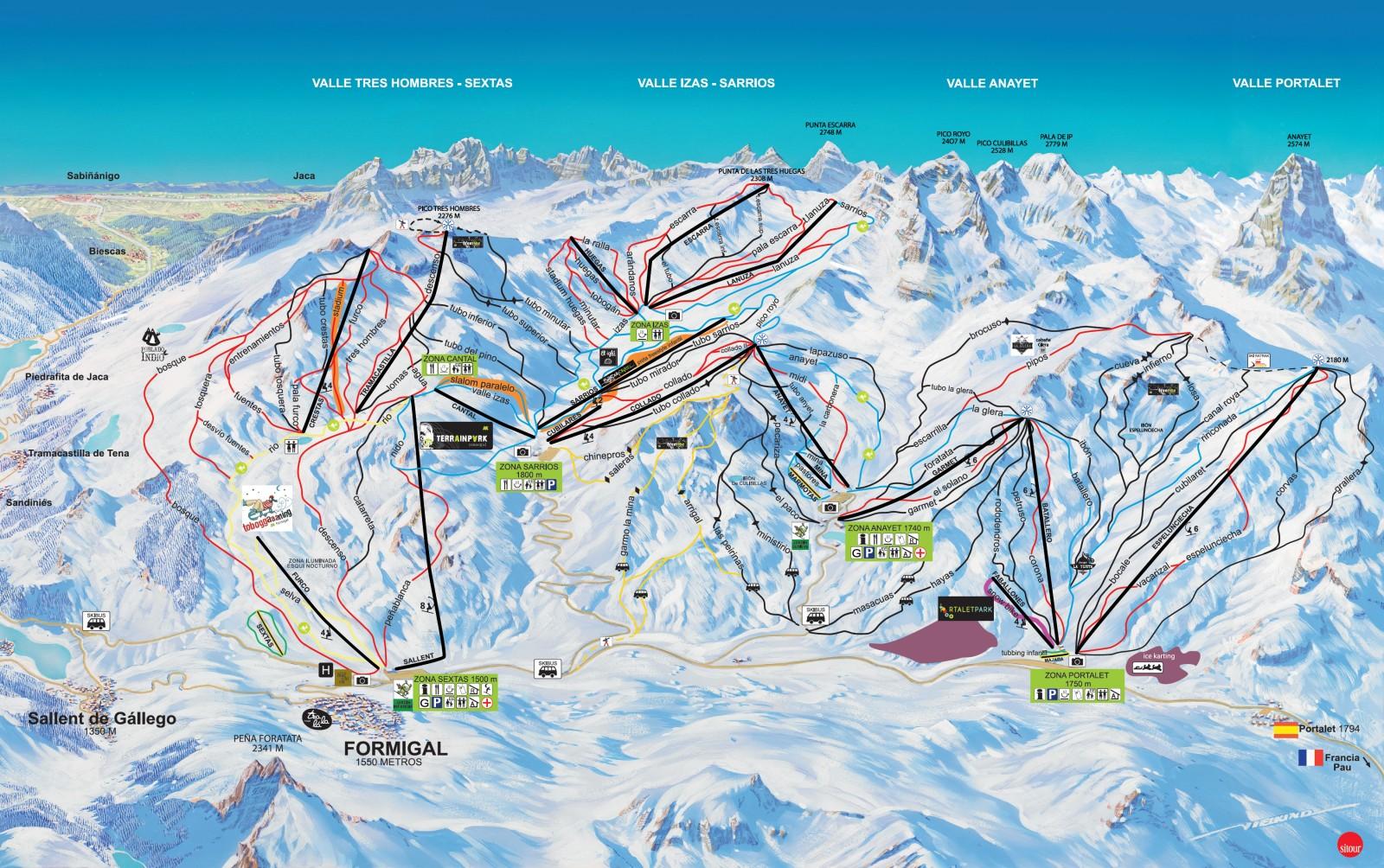 Formigal Estaciones De Esquí De Pirineo Aragonés Www Leonoticias Com