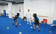 La escuela de esgrima de Ponferrada inicia el curso