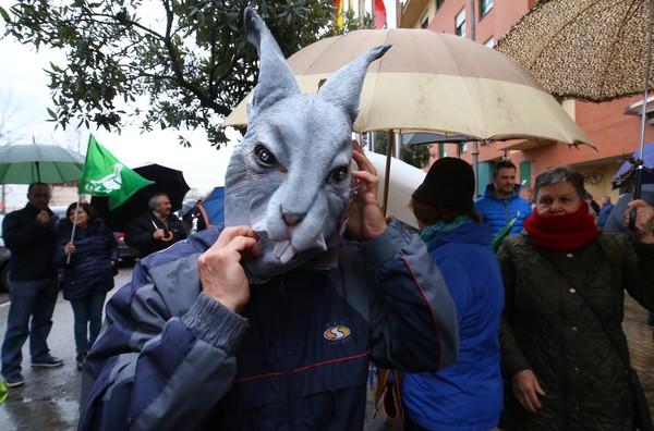 Manifestación de agricultores en Ponferrada