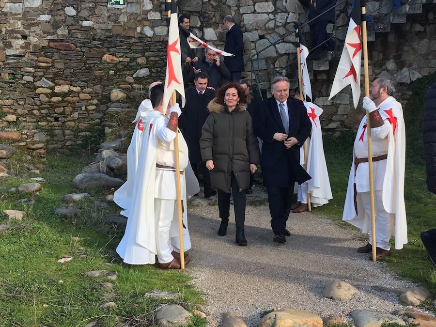 Inauguración de la sala Noruega en el castillo de los Templarios