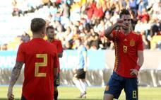 España golea a Estonia en Ponferrada y sigue con su marcha inmaculada en el Europeo