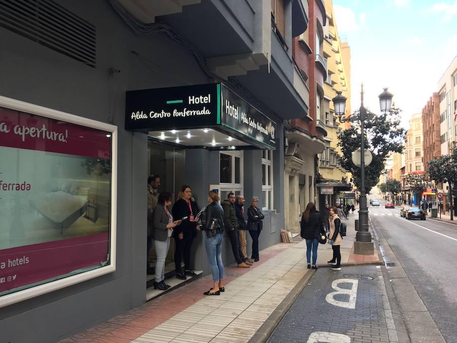 Inauguración del Hotel Alda Centro Ponferrada