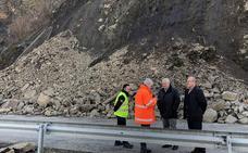 La Junta agiliza la reparación del derrumbe en la CL-631 entre Ponferrada y Villablino