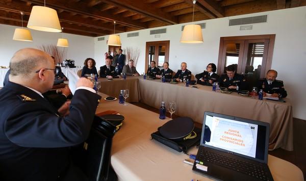 Reunión de la Junta Regional de Seguridad en Ponferrada