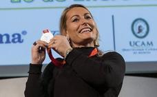 Lydia Valentín, mejor deportista berciana en los XXI premios 'Teledeportivos'