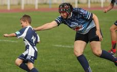 Jornada de fiesta y rugby en el 'Día del Aficionado'