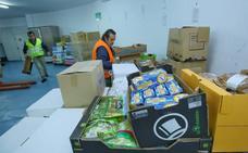 Recogida 'veraniega' del Banco de Alimentos del Sil