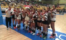 La Asunción, campeón autonómico infantil de voleibol