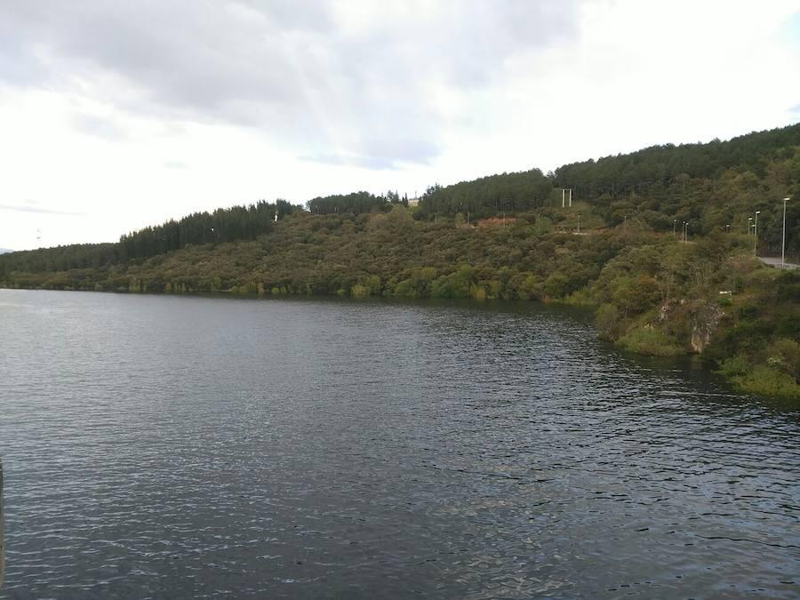 El embalse de Bárcena marca uno de sus máximos históricos