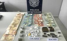 La Policía Nacional detiene a tres mujeres en Ponferrada por tráfico de cocaína y hachís