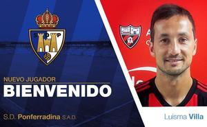 Luisma Villa, tercer fichaje de la Ponferradina para la nueva temporada