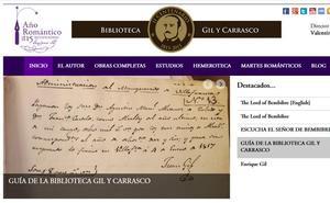 La Biblioteca Gil y Carrasco en la ULE, un modelo de Humanidades Digitales