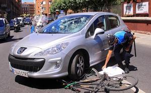 El 4% de los fallecidos en accidente de tráfico en León son ciclistas