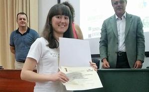 Una estudiante de Bembibre gana la fase nacional de la Olimpiada Agroalimentaria