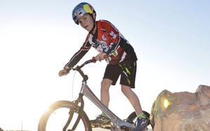 El prodigio berciano de la bicicleta
