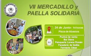Cacabelos celebra la séptima edición del 'Mercadillo y paella solidarios'