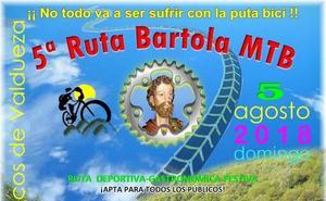 Valdefrancos acoge la quinta ruta 'Bartola MTB'