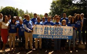 Los abogados del Turno de Oficio en la comarca reclaman mejoras salariales y exenciones fiscales