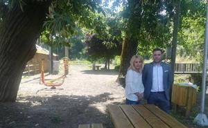 San Esteban de Valdueza estrena parque de ocio biosaludable tras una inversión de casi 10.000 euros