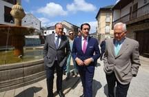Suárez-Quiñones inaugura en Molinaseca los sensores en farolas y contenedores para la eficiencia de servicios públicos