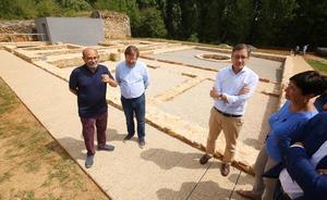 La domus romana de Pedreiras de Lago se suma a los atractivos del espacio cultural de Las Médulas