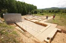 Restauración de la domus romana de Pedreiras del Lago en Las Médulas